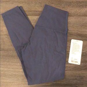 Lululemon Align Pant II Moody Blue Size 6